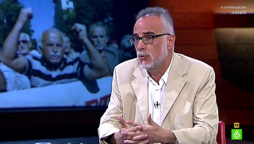 El catedrático de Historia Económica Carles Manera visita 'El Intermedio'