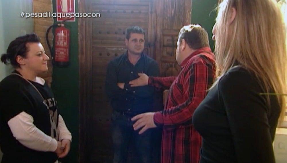 Chicote se vuelve a encontrar con la Mari