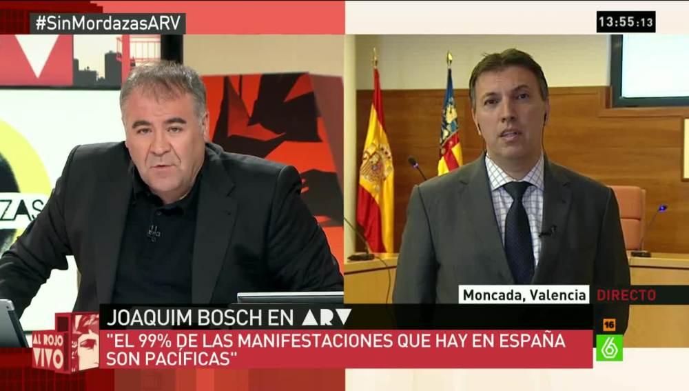 Joaquim Bosch, portavoz de Jueces para la Democracia