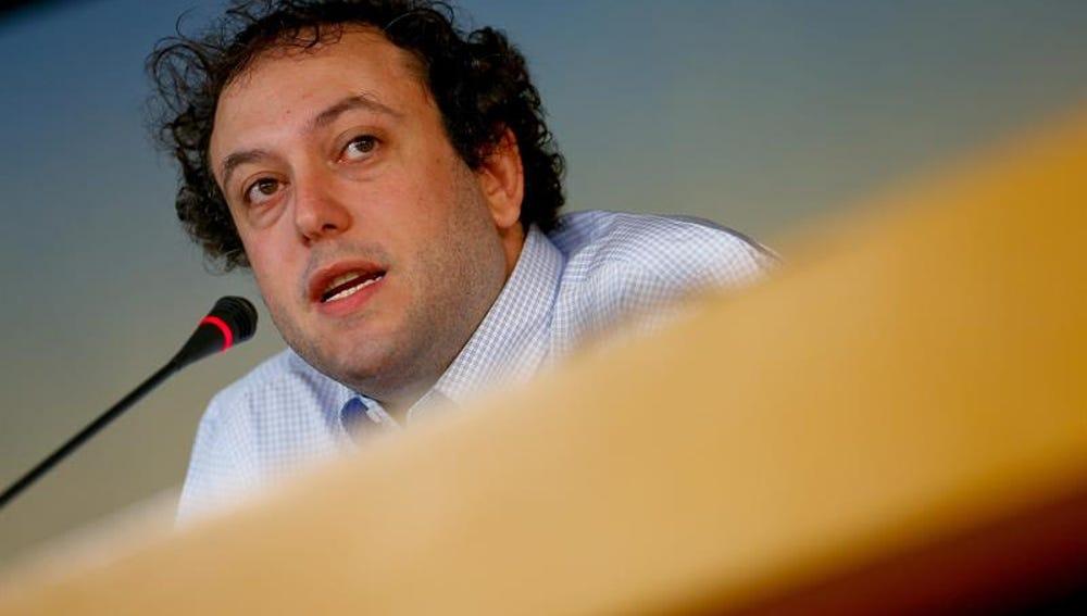 El concejal del Ayuntamiento de Madrid Guillermo Zapata