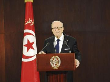 El presidente tunecino, Beyi Caid Essebsi