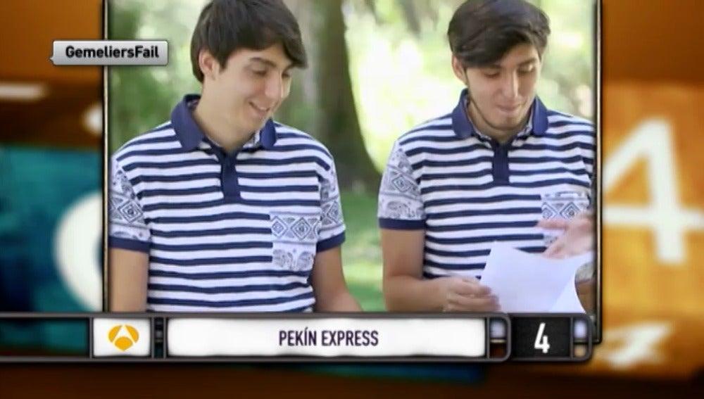 José Luis y Manuel de 'Pekín Express'