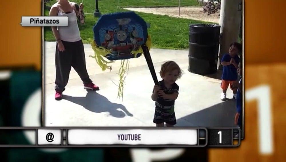 Los mejores 'piñatazos' de las fiestas de cumpleaños