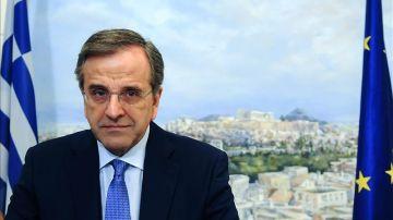 El exprimer ministro griego, Andonis Samarás.