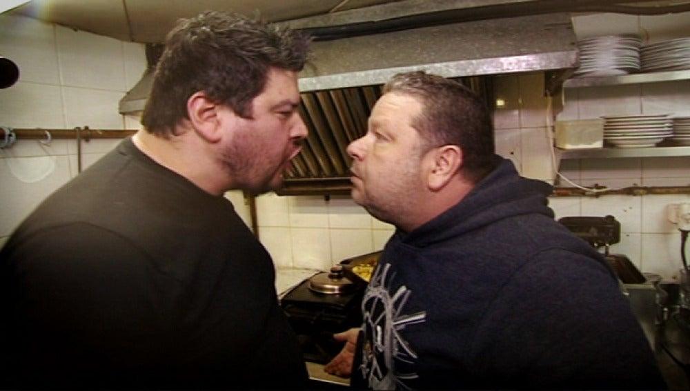 Walter VS. Chicote, dos grandes pesos pesados de 'Pesadilla en la cocina'