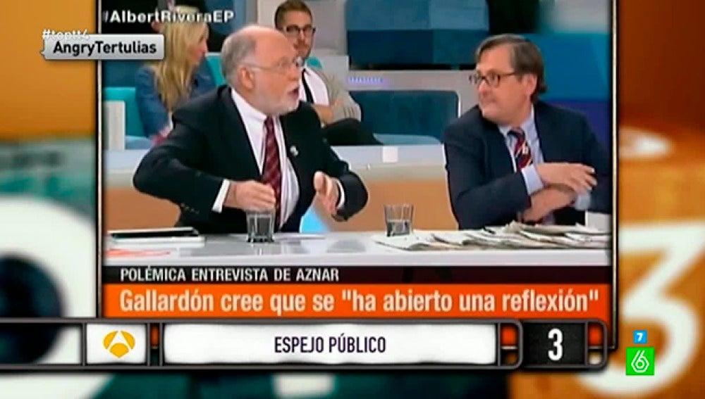 "Ernesto Ekaizer, a Francisco Marhuenda: ""Tú eres un mentiroso"""
