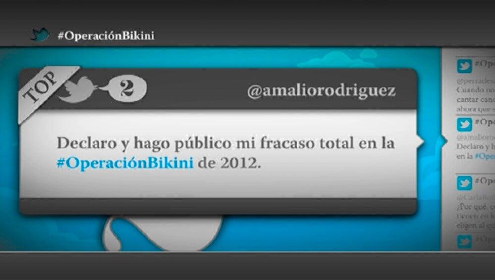 """@amaliorodriguez: """"Declaro y hago público mi fracaso total en la Operación Bikini de 2012"""""""