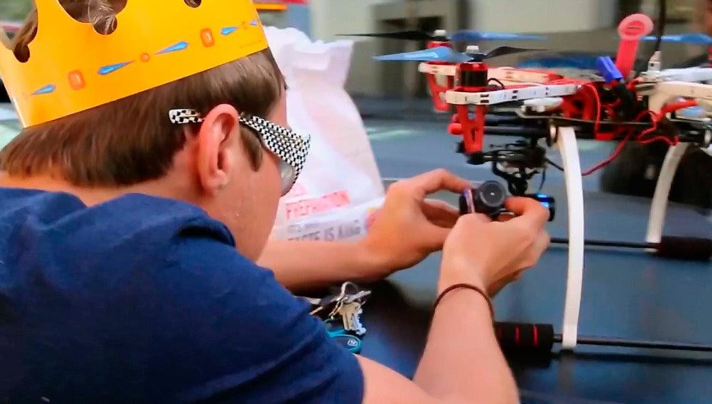 Un experimento usa drones para repartir comida en San Francisco