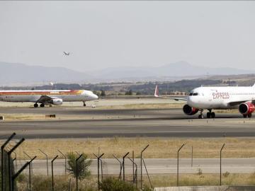Vista general de la T-4 del aeropuerto Adolfo Suárez Madrid-Barajas.