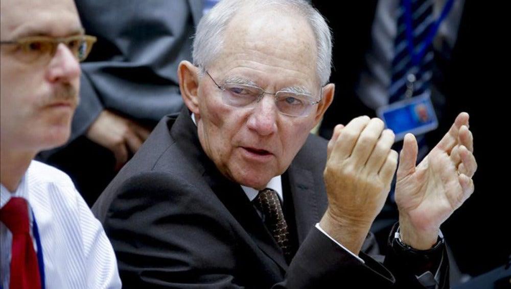 """La propuesta del """"grexit"""" temporal de Schäuble subraya la dureza de la postura alemana"""