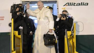 El Papa vuelve de sudamérica