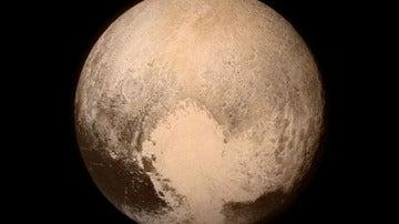 Plutón, captado por New Horizons