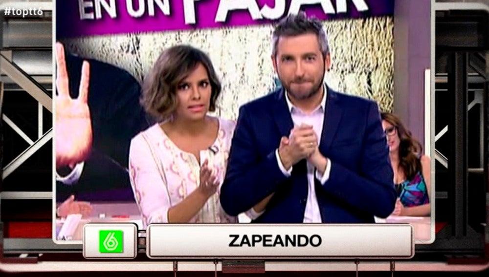 """Frank Blanco, a Cristina Pedroche: """"Es muy bonito tu vestido, echo de menos que se transparente"""""""