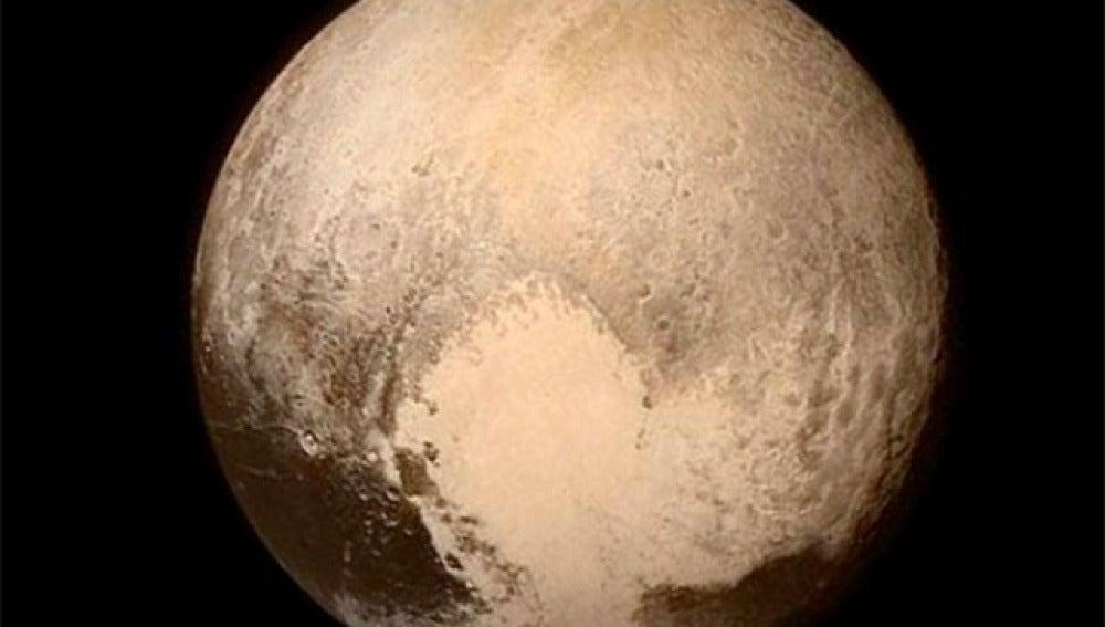 Así es Plutón de cerca