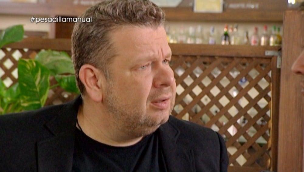 Alberto Chicote, impresionado en 'La Estación'