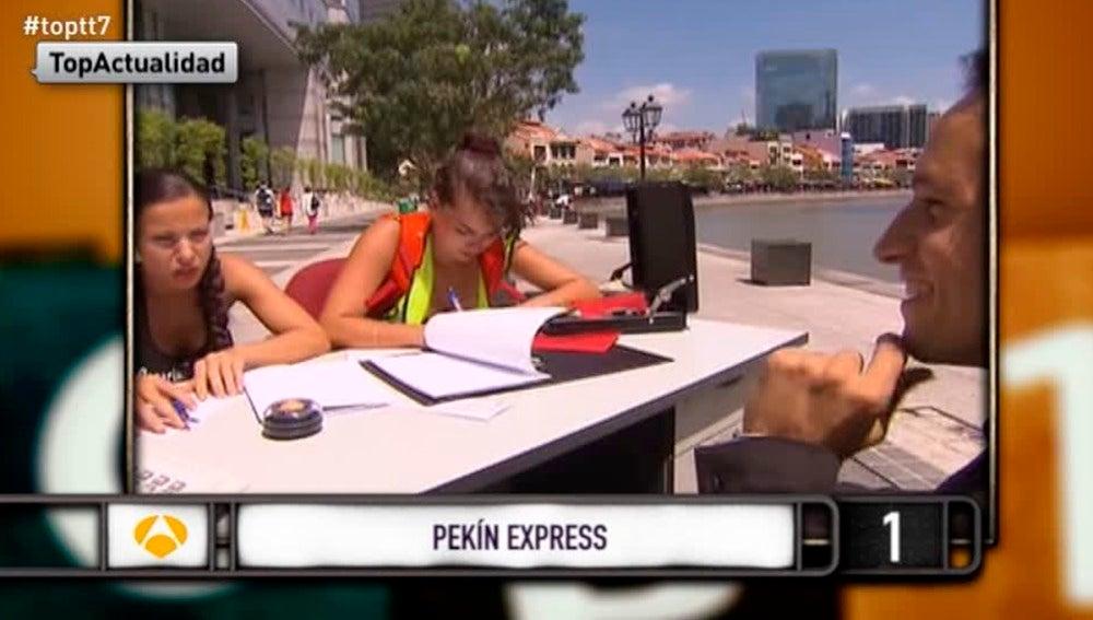 """Yareli, en la final de Pekín Express: """"Yo estudio Administración y Gestión, pero lo hago todo   con calculadora"""""""