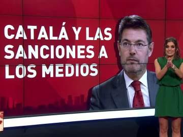 Lorena BAeza analiza el viraje de Catalá