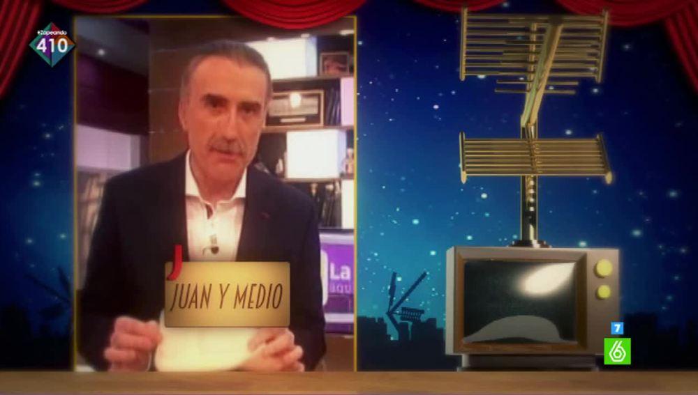 Juan Y Medio se convierte en el vencedor del premio Zapeando a 'Mejor Presentador autonómico'