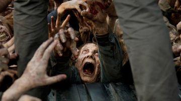 Los zombies de la sexta temporada de 'The Walking Dead'