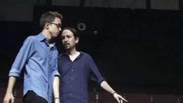 Pablo Iglesias y Errejón
