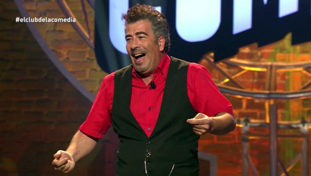 Agustín Jiménez, en la quinta temporada de 'El Club de la Comedia'