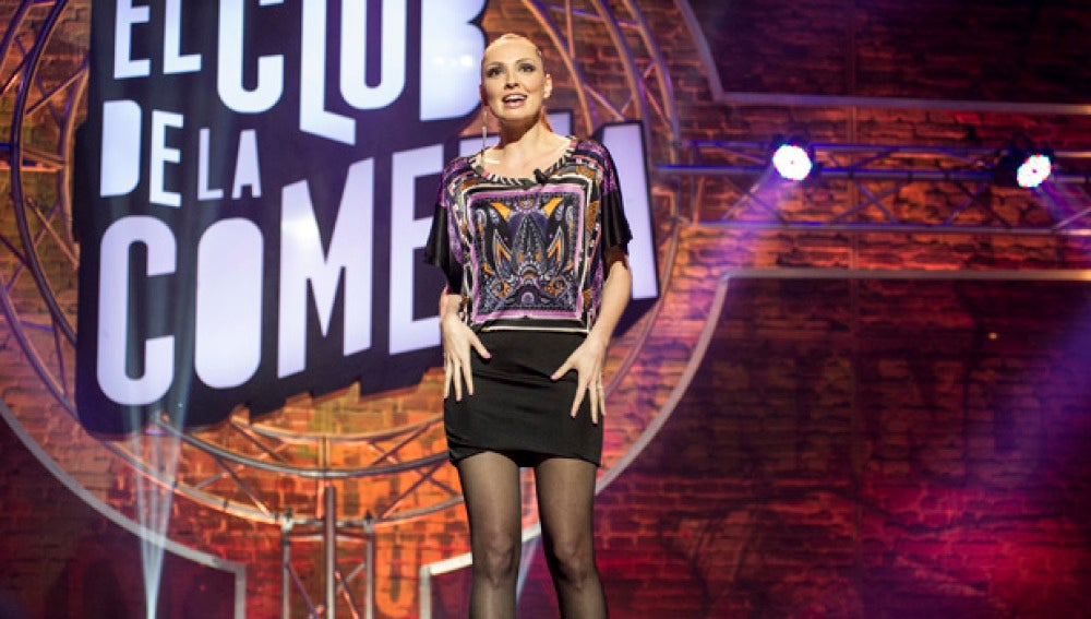 Cristina Castaño, en la quinta temporada de 'El Club de la Comedia'