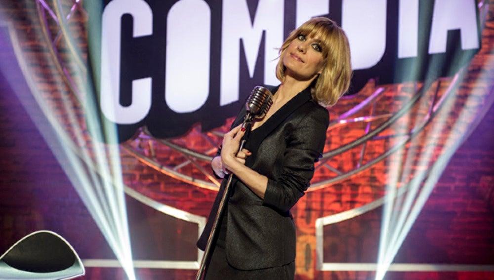 Alexandra Jiménez, presentadora de 'El Club de la Comedia'
