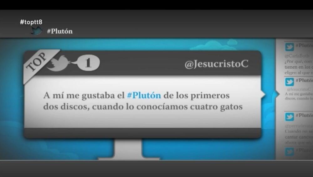 """@JesucristoC: """"A mi me gustaba el Plutón de los primeros dos discos, cuando lo conocíamos cuatro gatos"""""""