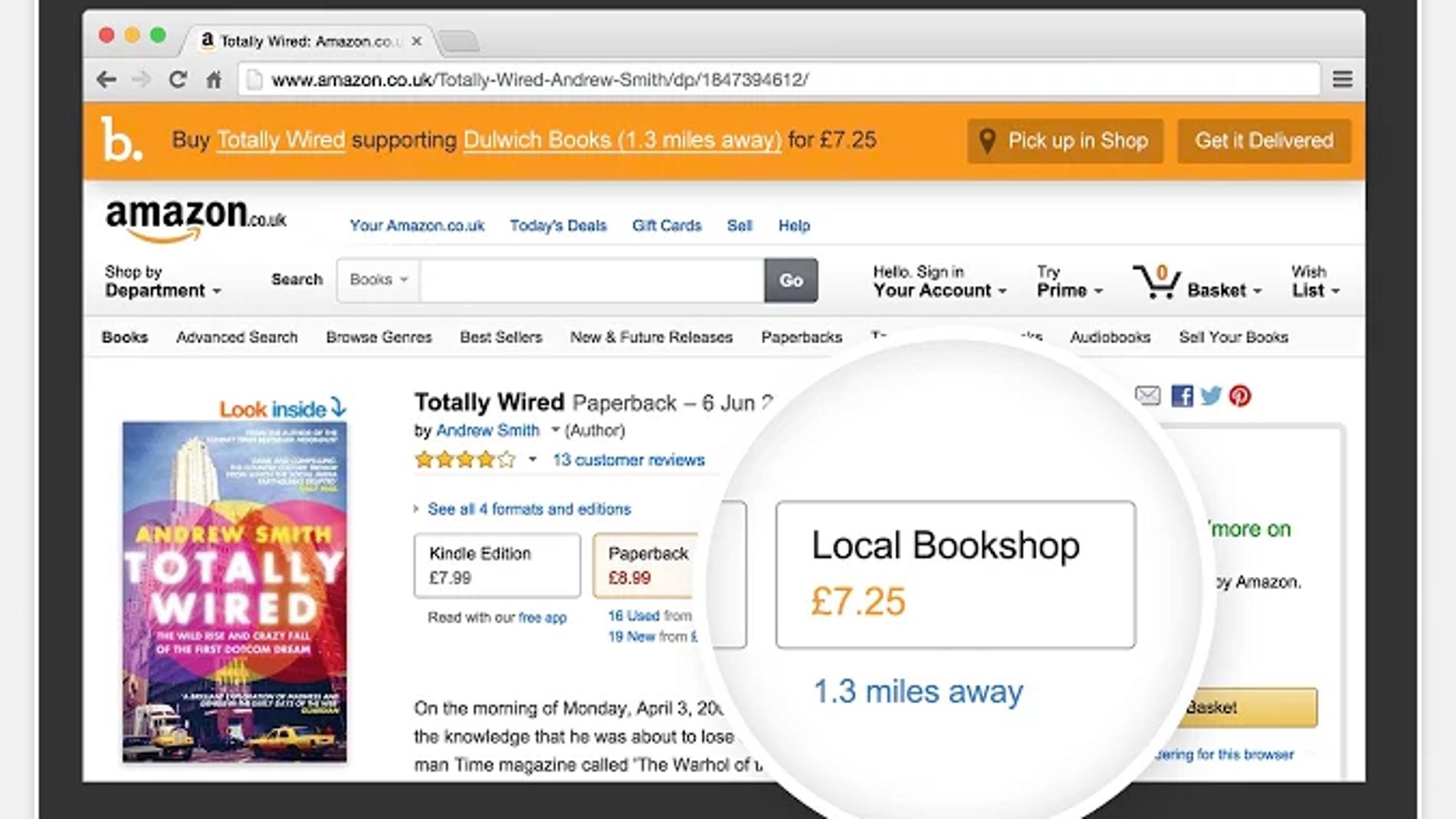 Bookindy, plugin contra los precios Amazon