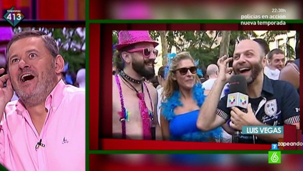 Miki Nadal comenta la cara de Luis Vegas