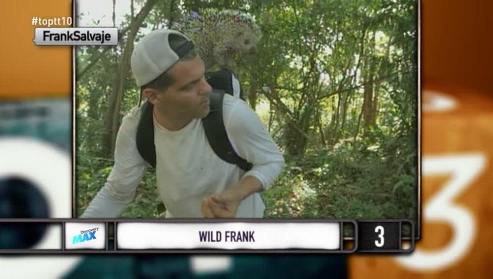 """Frank: """"Te crees que me puedes clavar de todo"""""""
