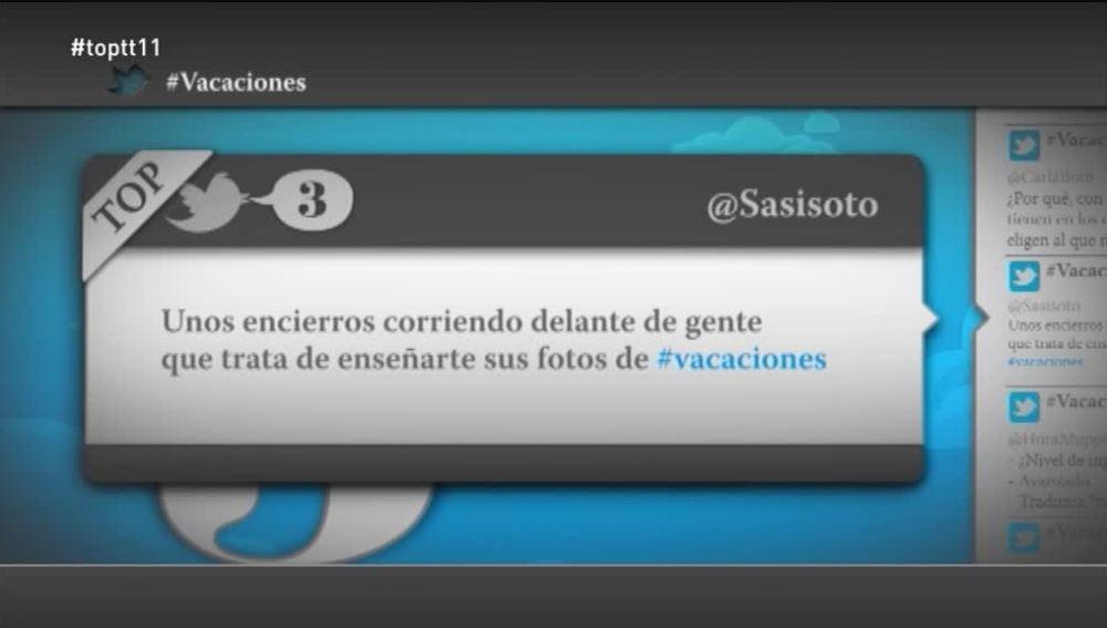 """@Sasisoto: """"Unos encierros corriendo delante de gente que trata de enseñarte sus fotos de vacaciones"""""""