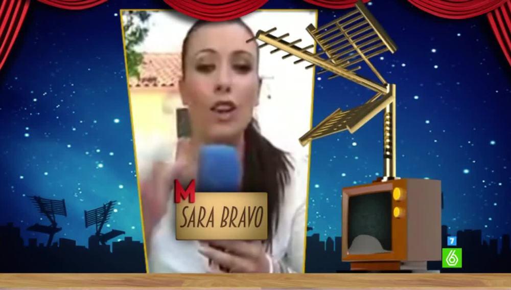 """Sara Bravo, premio Zapeando a 'Mejor Reportero del Año': """"El año pasado quedé segunda y éste tenía que ganar"""""""