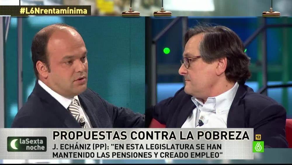 """José Carlos Díez: """"Hay 5,2 millones de parados, no sé si el PP es consciente"""""""