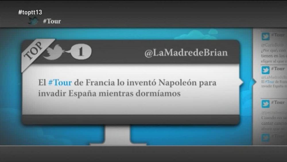 """@LaMadreDeBrian: """"El Tour de Francia lo inventó Napoleón para invadir España mientras dormíamos"""""""