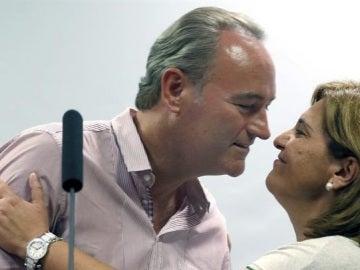 Alberto Fabra e Isabel Bonig