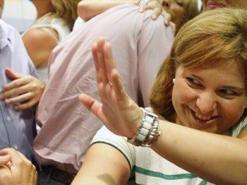 Isabel Bonig, presidenta del PP valenciano