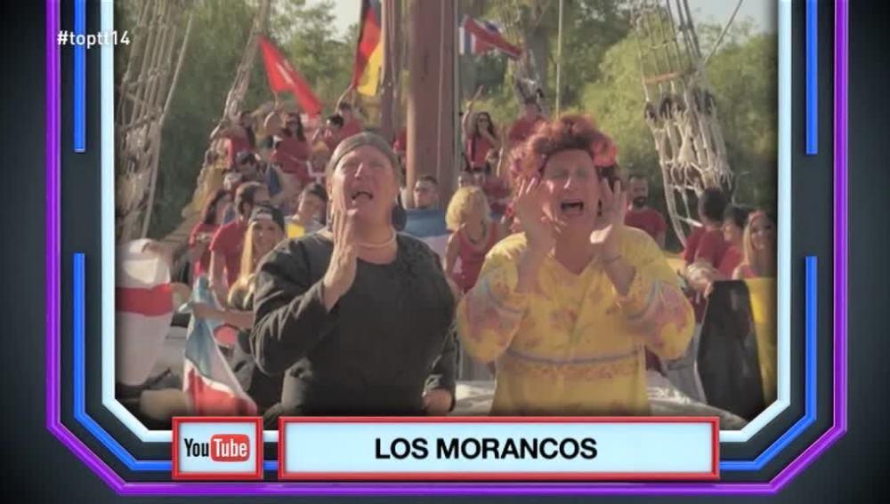 Los morancos se convierten en 'El Temazo' de 'Top Trending Tele' con su canción 'La pelotera'