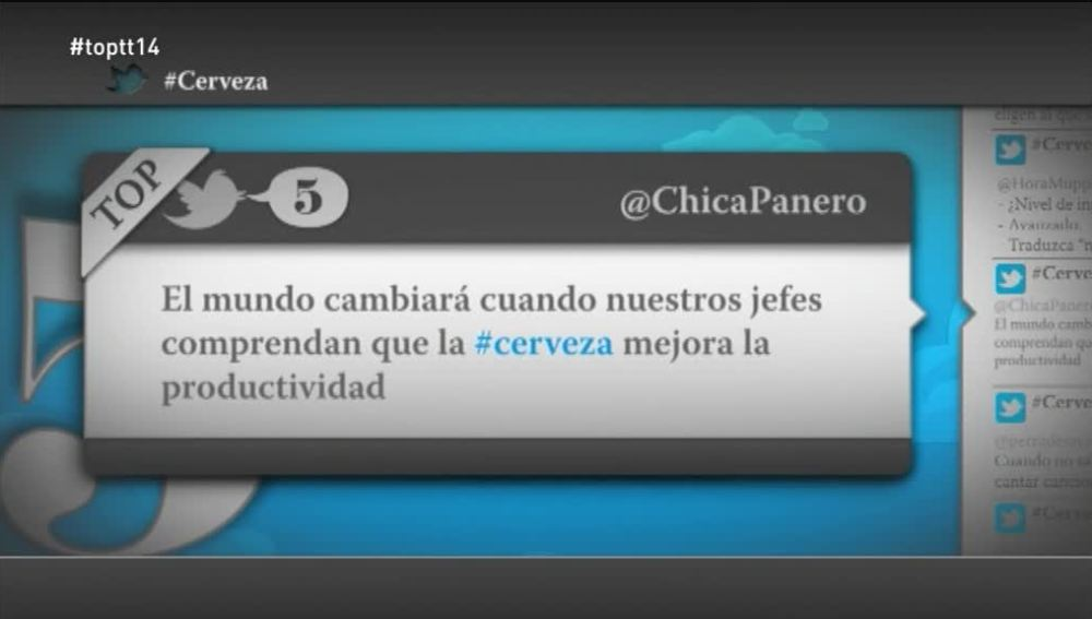 """@ChicaPanero: """"El mundo cambiará cuando nuestros jefes entiendan que la cerveza mejora la productividad"""""""