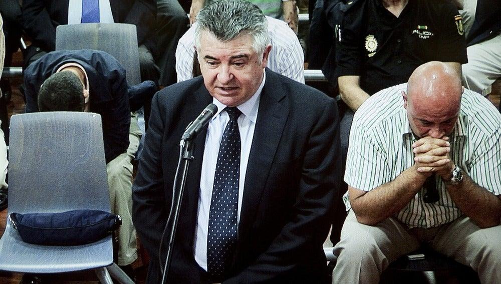 Juan Antonio Roca declarando en el juzgado