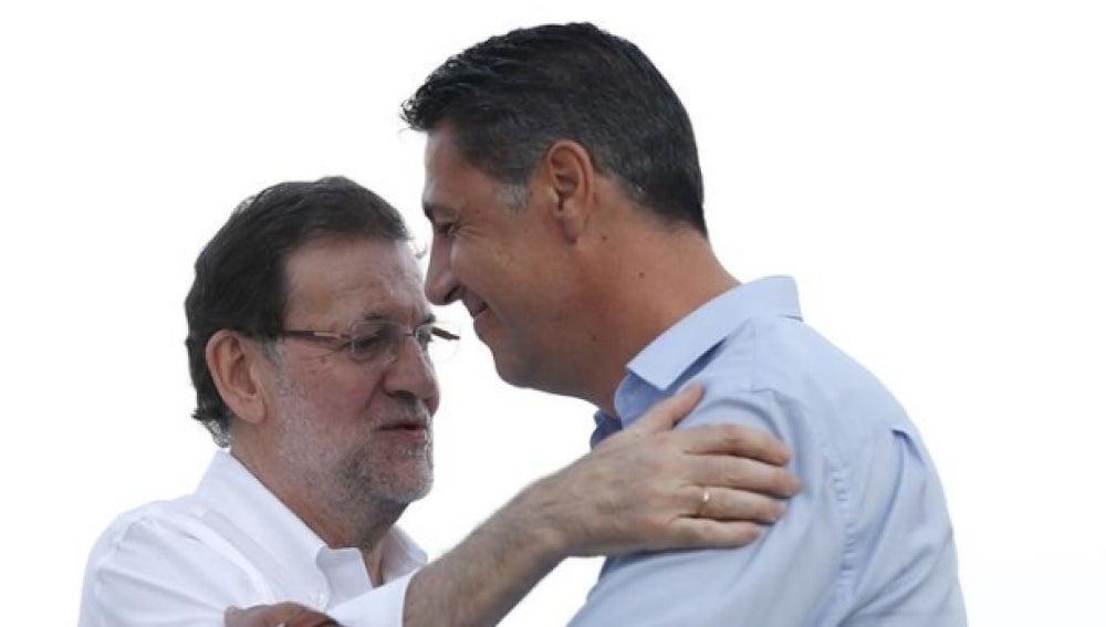 Rajoy y García Albiol