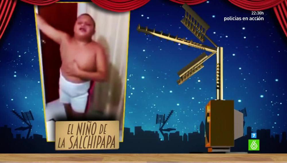 'El niño de la salchipapa' se convierte en finalista de los premios Zapeando a 'Mejor Vídeo de la red'