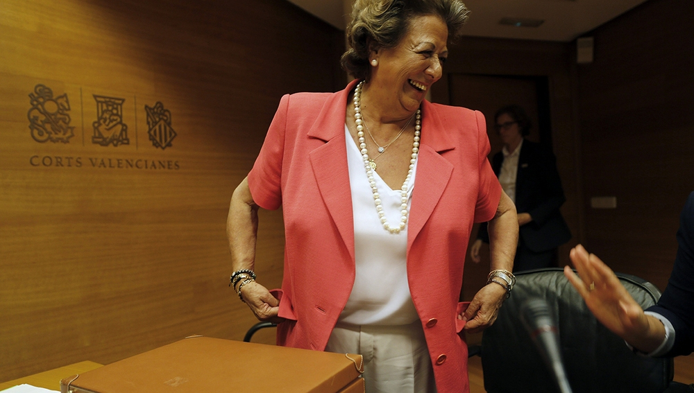Rita Barberá, exalcaldesa de Valencia