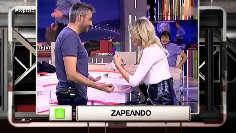 La 'pelea' entre Anna Simon y Frank Blanco se convierte en 'El Momentazo'