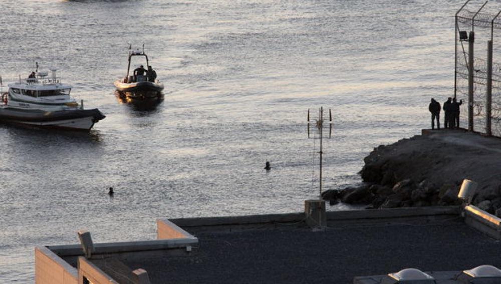 Imagen de la costa de Ceuta