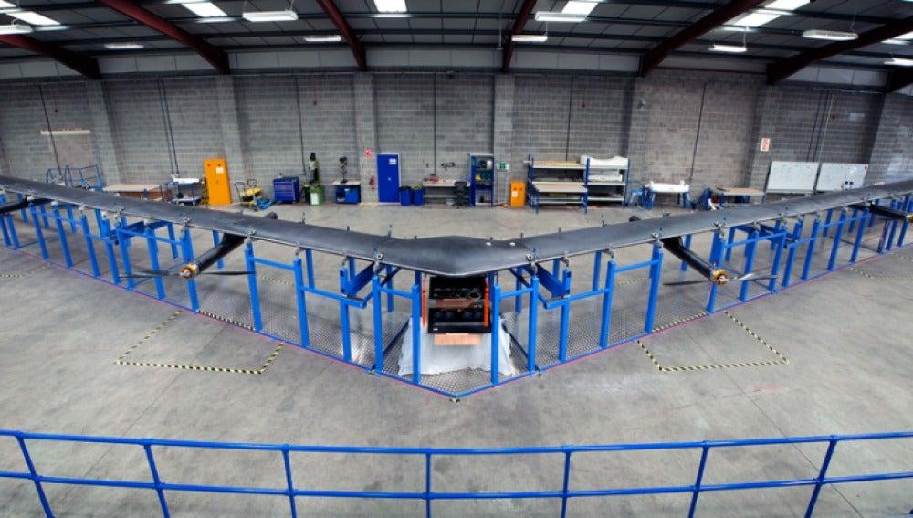 Este es el dron que está preparando Facebook