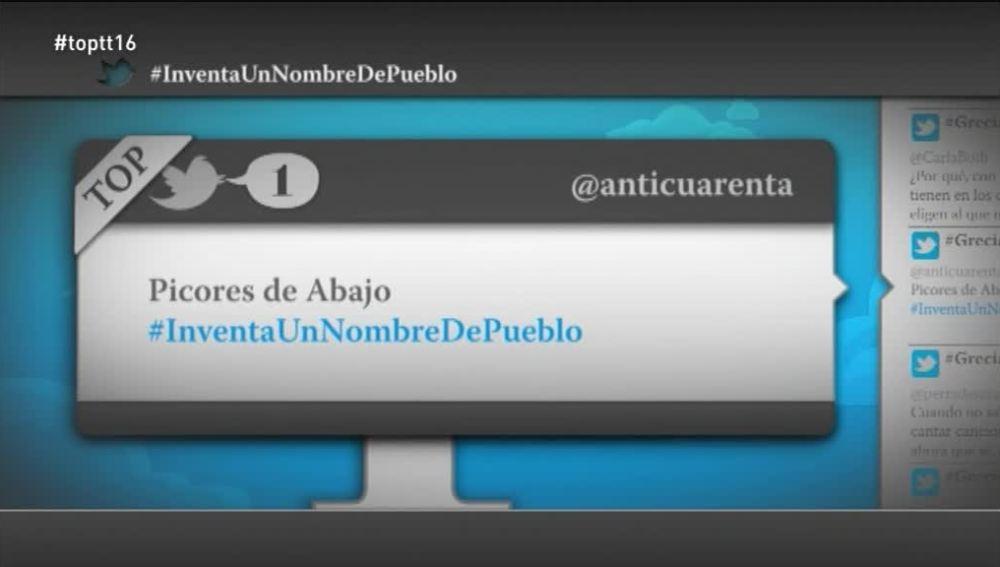 """@anticuarenta: #InventaUnNombreDePueblo Picores de Abajo"""""""