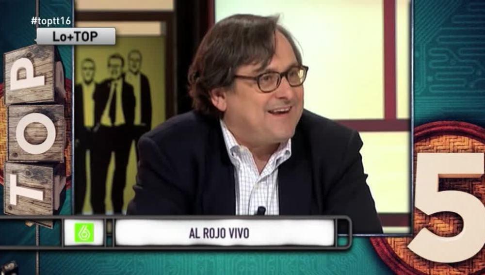 """Paco Marhuenda a Cristina Pardo: """"No me dejas hablar, esto sí que es la 'Ley Mordaza'"""""""
