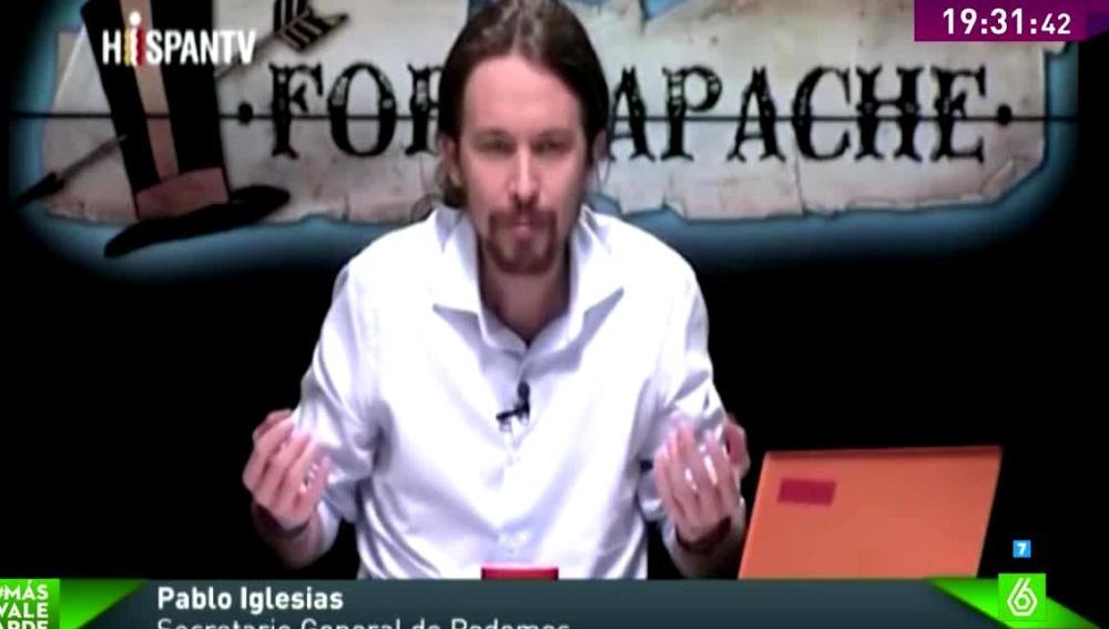 """Pablo Iglesias alaba a la monarquía frente a otras instituciones """"por sus gestos"""""""