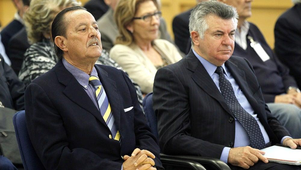 El exalcalde de Marbella, Julián Muñoz, y el asesor urbanístico, Juan Antonio Roca